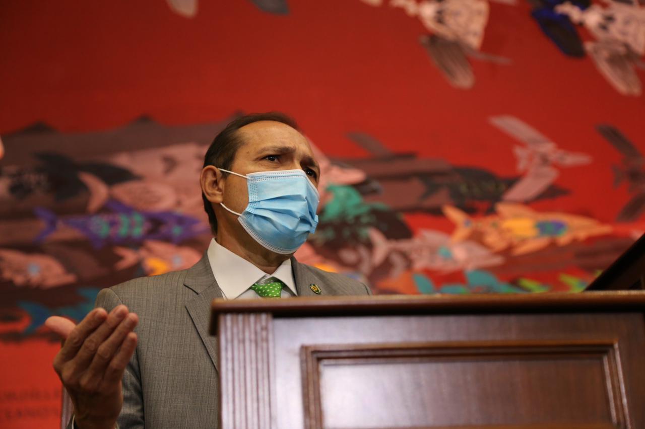 Senador Antonio Sanguino en Congreso Pleno