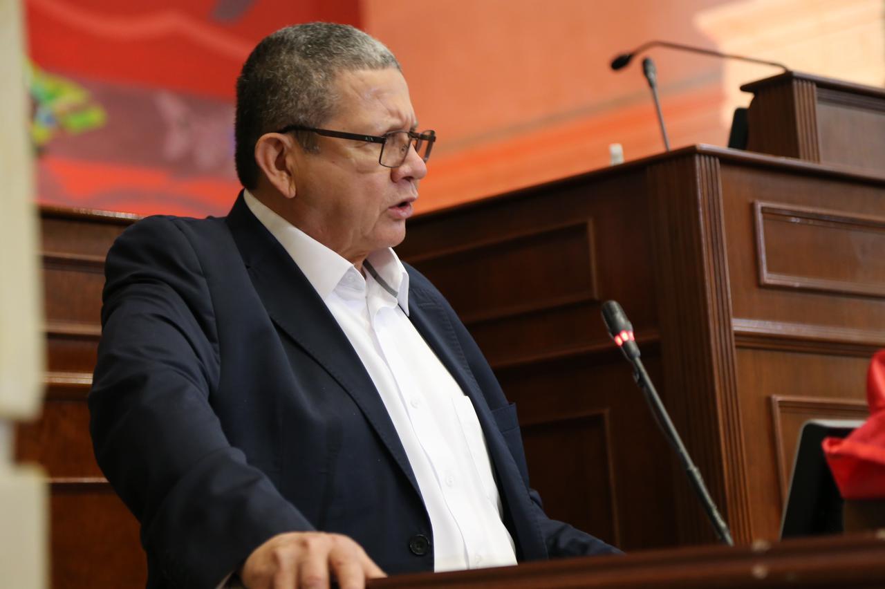 Senador Pablo Catatumbo en Congreso Pleno